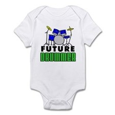 Future Drummer (Blue) Infant Bodysuit