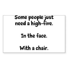 High-five chair Decal