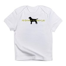 My Brother is a Black Lab Infant T-Shirt