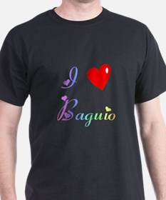 I Love Baguio Gifts T-Shirt