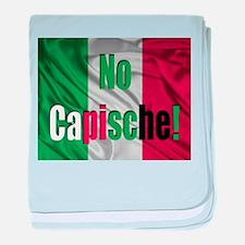 No Capische! baby blanket