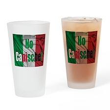 No Capische! Drinking Glass
