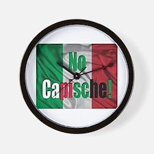 No Capische! Wall Clock
