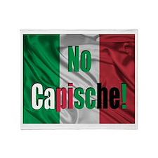No Capische! Throw Blanket