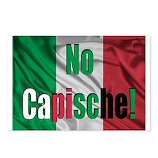 No Capische! Postcards (Package of 8)
