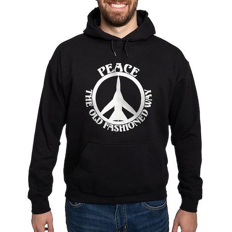 FB-111 Peace Plane Hoodie (dark)