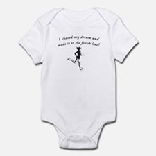 Cute Half marathon Infant Bodysuit