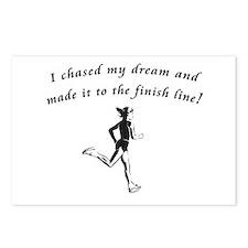 Cool Run marathon Postcards (Package of 8)