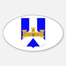 DUI - 1st Bn - 393rd Infantry Regt Sticker (Oval)