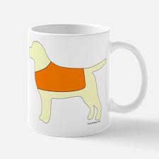 Yellow Lab - Orange Vest Mug
