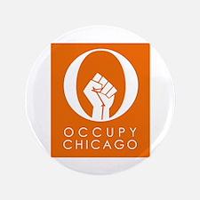 "Occupy Chicago 3.5"" Button"