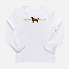 My Sister is a Chocolate Lab Long Sleeve Infant T-