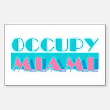 Occupy Miami Sticker (Rectangle)