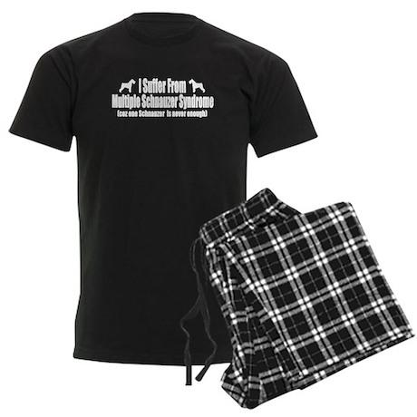 Schnauzer Men's Dark Pajamas