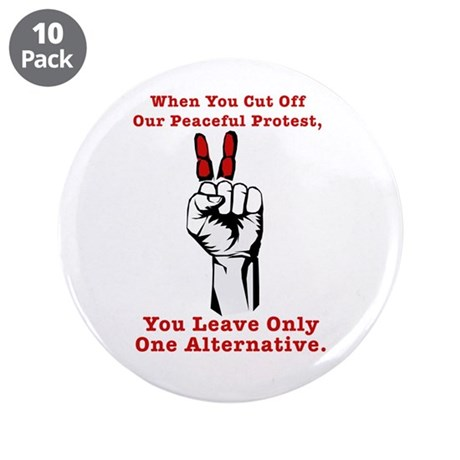 """Occupy Together - One Alterna 3.5"""" Button (10 pack"""