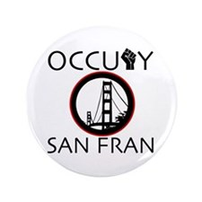 "Occupy San Fransisco 3.5"" Button"