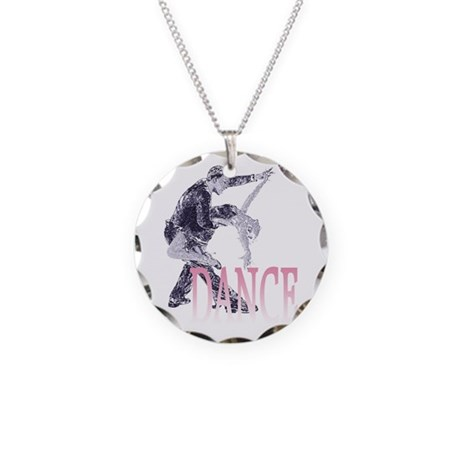 Must Dance! Necklace Circle Charm