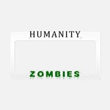Humanity vs. Corporate Zombie License Plate Holder