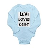 Levi Long Sleeves Bodysuits