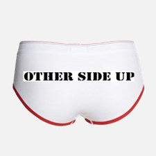 Other Side Up (Back) Women's Boy Brief