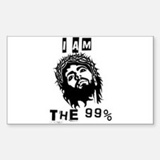 Jesus Is The 99% Decal