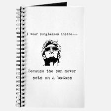 Sun never sets on a badass Journal