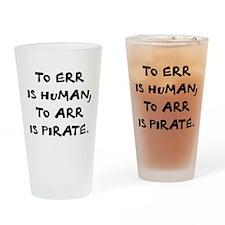 Arr! Drinking Glass