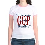Ideology/reality Jr. Ringer T-Shirt