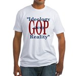 Ideology/reality Fitted T-Shirt