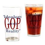 Ideology/reality Drinking Glass