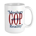 Ideology/reality Large Mug