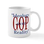 Ideology/reality Mug