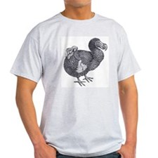 Dodo Bird Ash Grey T-Shirt