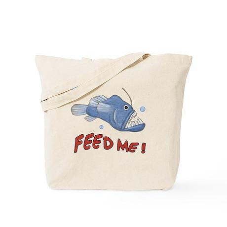 Piranha - Feed Me - Tote Bag