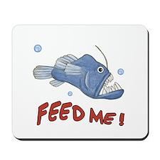 Piranha - Feed Me - Mousepad