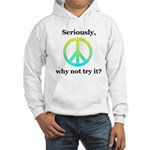 Seriously Bl/Gr/Ye Hooded Sweatshirt