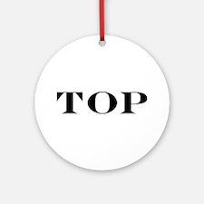 TOP Ornament (Round)