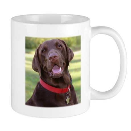 Chocolate Lab Regular Sized Mug