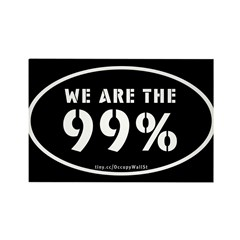 Occupy Wall St Rectangle Magnet (10 pack)