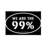 Occupy Wall St Rectangle Magnet (100 pack)