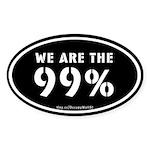 Occupy Wall St Sticker (Oval 50 pk)