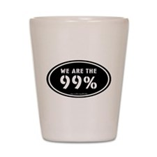 Occupy Wall St Shot Glass