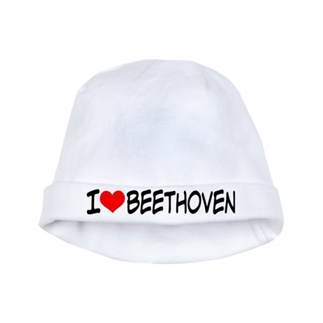 Beethoven Music baby hat