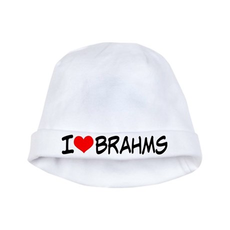 Brahms Music baby hat