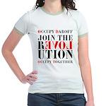 #OccupyDaroff Jr. Ringer T-Shirt