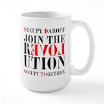 #OccupyDaroff Large Mug