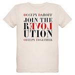 #OccupyDaroff Organic Kids T-Shirt