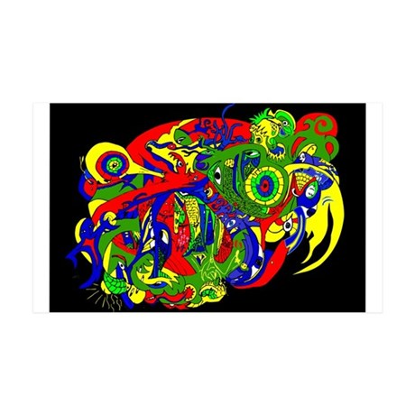 Abstract Clothing 38.5 x 24.5 Wall Peel
