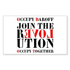 #OccupyDaroff Decal