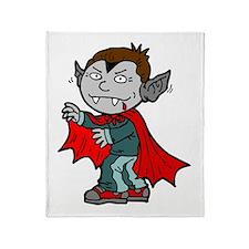 Kid Dracula Throw Blanket